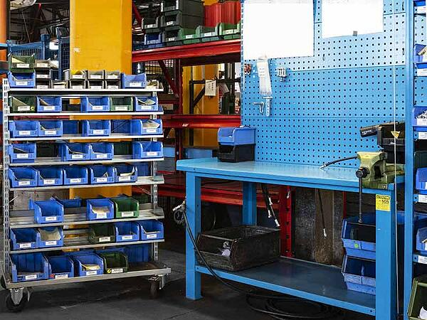Arredamenti industriali Fami come strumenti per la Lean Production