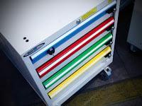 cassettiera industriale standard